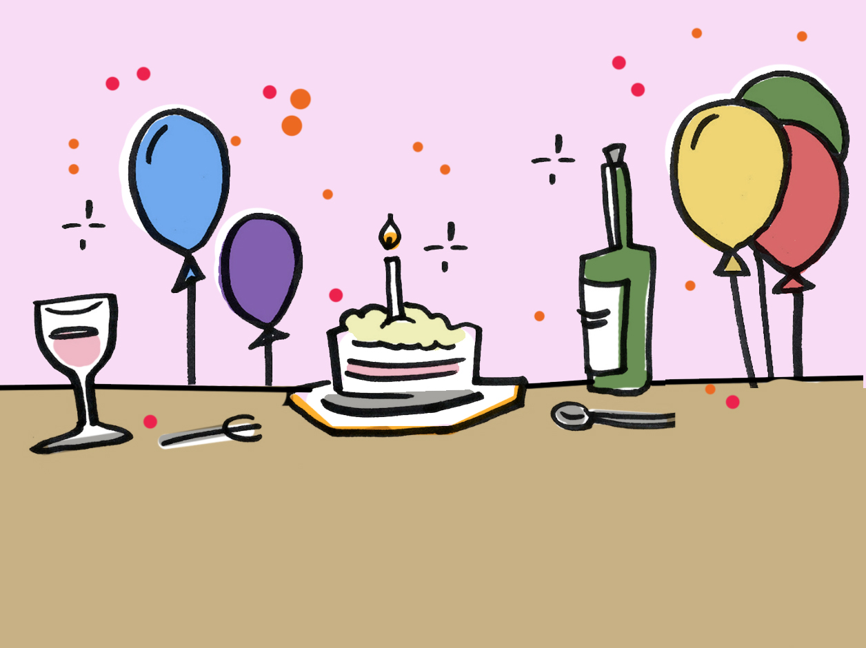 HURRAY! We just had our first birthday.