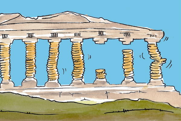 Greece has a Private Debt Crisis and We Can Blame the Troika